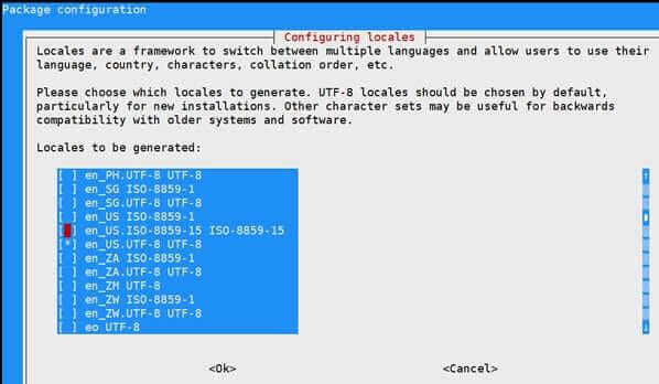 解决Debian9系统环境中文乱码的问题 检查设置UTF-8编码插图