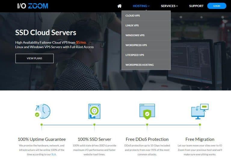 VPS推荐:io/zoom美国VPS主机插图